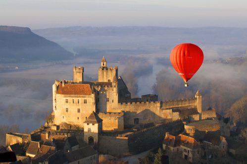 montgolfiere et chateaux
