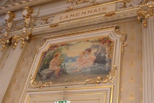 Rennes Hôtel de Ville décoraiton intéreirure
