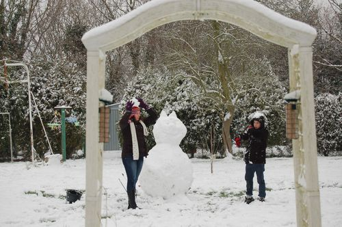 717 - le bonhomme de neige 8.