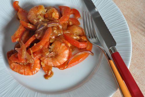 Crevettes sautées chinoises (3)