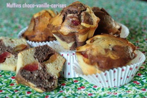 Muffins choco-cerises (3)