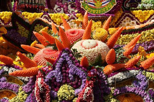 Chiang Mai : Festival des fleurs 2012 by Marielle