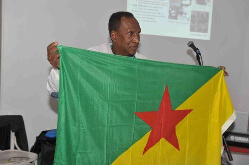 Raymond Charlotte l'indépendantiste guyanais photo Alfred
