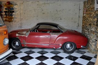 karmann ghia low light 1956 vendre pour restauration. Black Bedroom Furniture Sets. Home Design Ideas