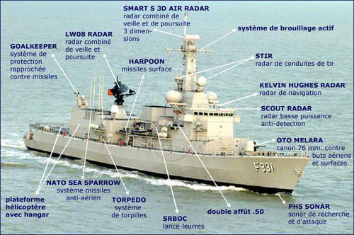 La Belgique participera à l'opération Atalanta avec une frégate