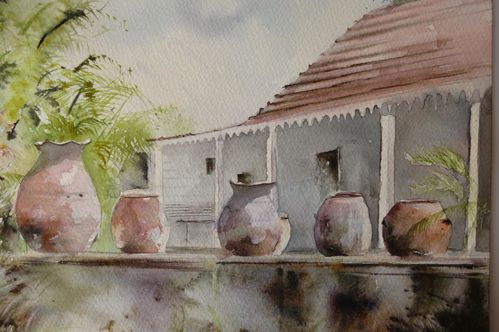 Pots en Martinique