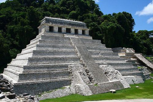 Palenque - Temple des Inscriptions