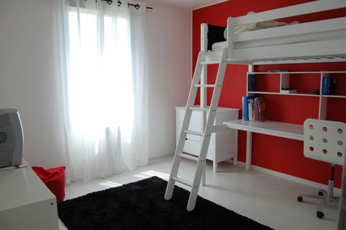 Awesome Chambre Rouge Et Blanc Ado Pictures - Design Trends 2017 ...