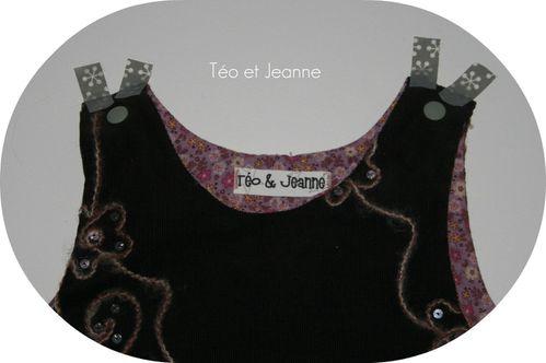 Robe chasuble velours 4