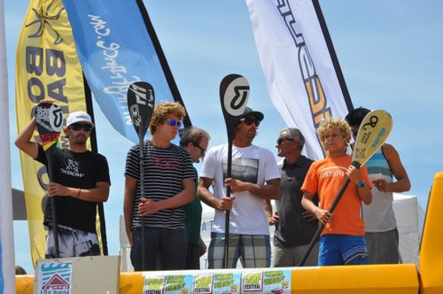 Bisca 2012 Podium SUP Open