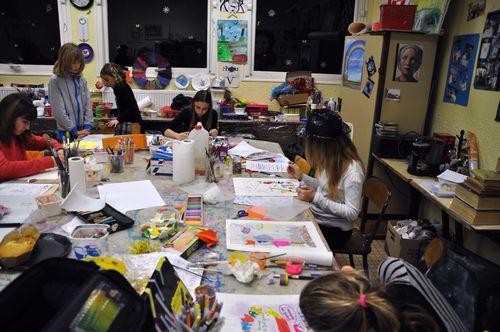Affiche ados peinture Atelier de Flo 1