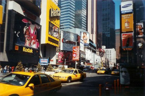 1995 04 les Taxis de NEW YORK