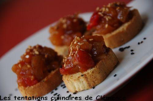 salsa de fruits et légumes2