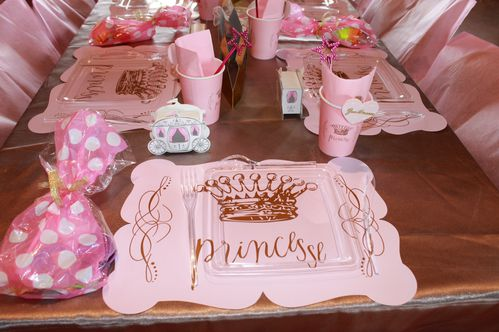 Idee deco bapteme princesse - Idee deco table bapteme fille ...