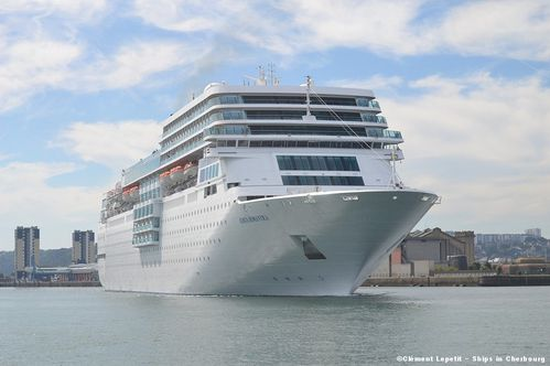 Costa Romantica, Cherbourg 8 septembre 2012