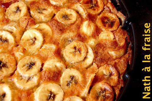Clafoutis Banane Cafe Nath A La Fraise