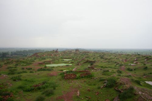 Inde Uttar Pradesh FatehpurSikri (2)campagne