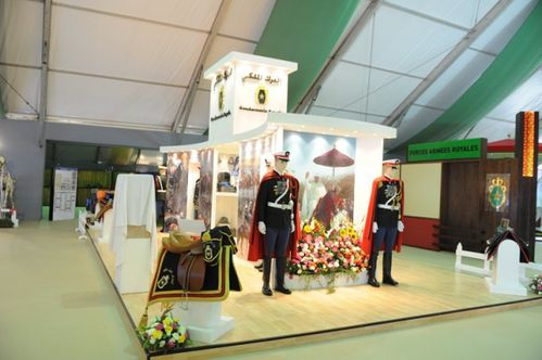 photo salon du cheval el jadida 2012 stand gendarmerie roya