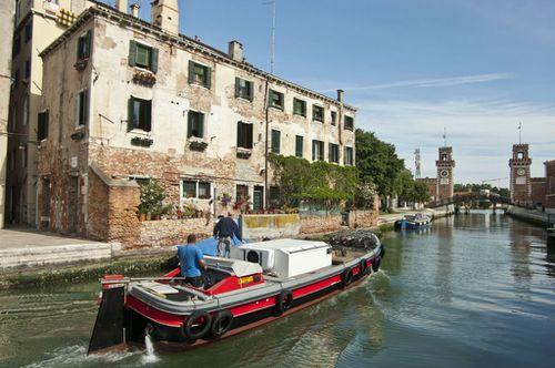 Venise, Castello, canale del Arsenal