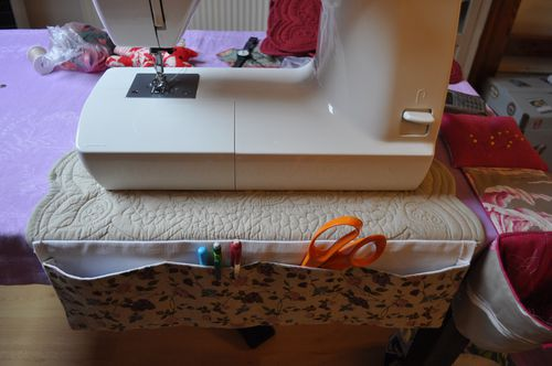 Tuto tapis machine coudre au coeur de marie for Un set de table