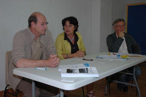 Conférence de presse Michèle Rivasi (GDE)