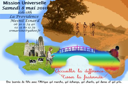 flyer mission universelle journée africaine