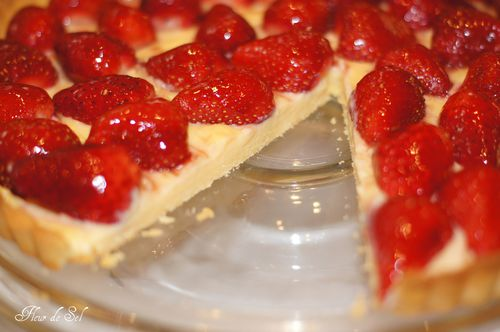 Strawberry tart with creme patissiere 4