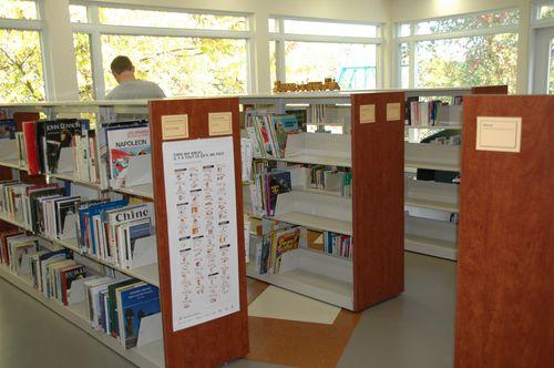 bibliothèque 007