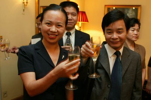 Le champagne en chine © Jacques DRIOL