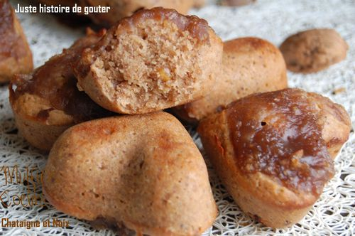 muffins coeurs chataigne