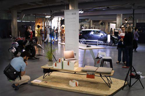 Banc Hub Paris Design Week evrard et devinast Design
