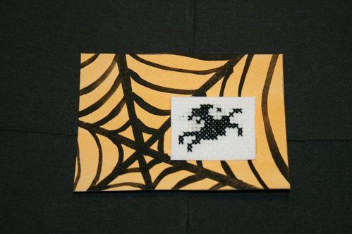Echange ATC thème Halloween automne de Cancan pour Laetiti
