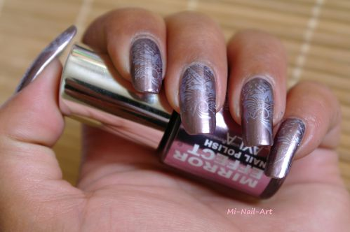 Stamping chrome sur Layla Mirror Effect 3