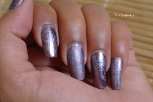 Stamping chrome sur Layla Mirror Effect 4