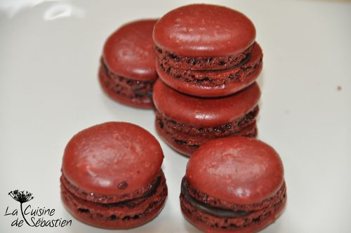 Macaron chocolat 0041