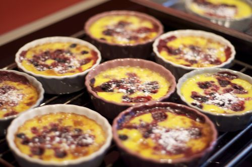 clafoutis rouge