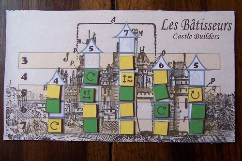 Les Bâtisseurs Castle Builders Spiel des Barbès 2011