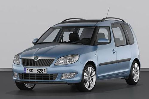 Skoda Roomster facelift 2010