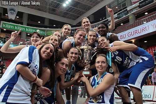 La saison 2012 2013 en photos le basket f minin sur basquetebol saulzoir - Coupe d europe basket feminin ...