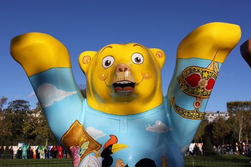 buddy bears champ de mars paris (1)