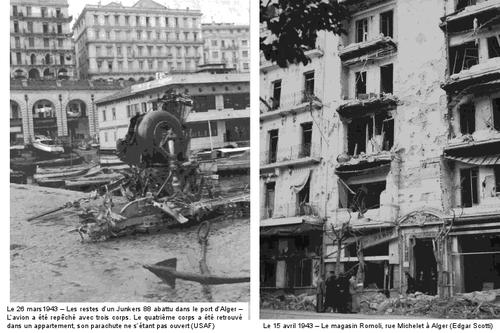 Alger Bombardenet 1943