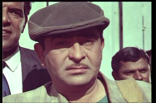 Raj Kapoor looks at us
