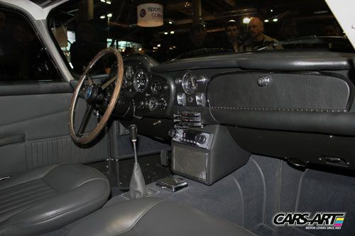 Aston Martin DB5 1964 interieur