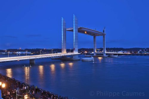 Philippe caumes photographe d 39 architecture - Pont chaban delmas inauguration ...