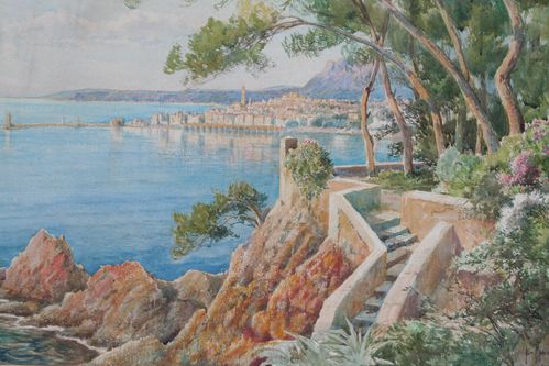 Menton - Emile Appey