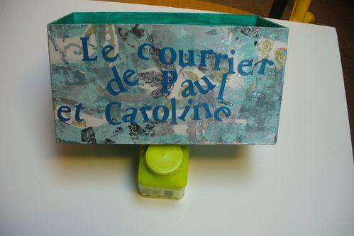 boîte à courrier