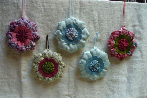 sachets de lavande octogone
