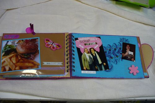 scrapbooking mini album aline