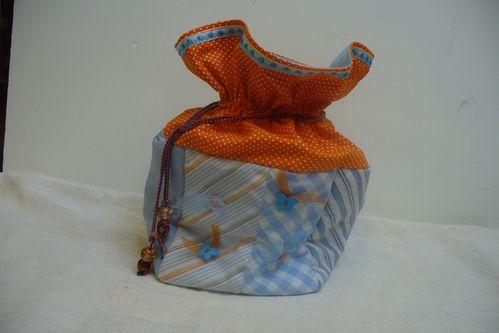 pochon en tissu d'alice