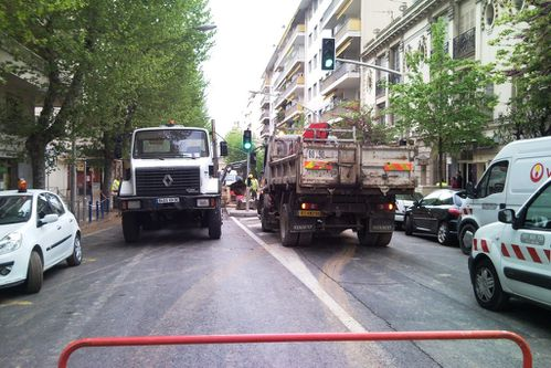 Camions boulevard Grosso